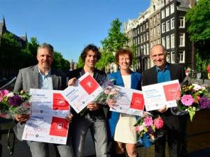 De winnaars van de Open Data FWD Challenge